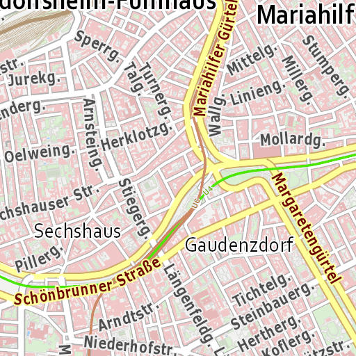 Mobiler Stadtplan Wien